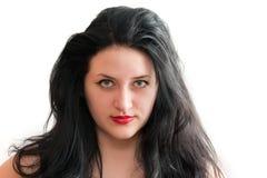 La persona de la muchacha hermosa Fotos de archivo libres de regalías