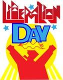 Día de la liberación Fotografía de archivo libre de regalías