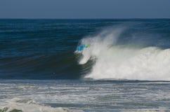 La persona que practica surf durante el nacional se abre Fotos de archivo libres de regalías