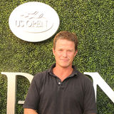 La personalità di TV Billy Bush assiste alla partita 2016 di semifinale di US Open a USTA Billie Jean King National Tennis Center Immagini Stock Libere da Diritti