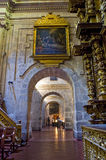 la peru för jesuit för arequipa kyrklig compaia Royaltyfri Bild
