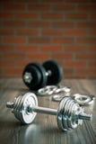 La pesa de gimnasia del hierro Fotografía de archivo libre de regalías
