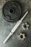 La pesa de gimnasia del metal fotografía de archivo libre de regalías
