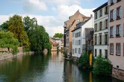 La Petit-France, Strasbourg, France images libres de droits