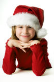 La petite aide de Santa image libre de droits
