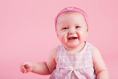 La petite belle fille de sourire photos stock