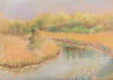 Petite rivière Illustration Libre de Droits