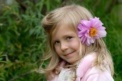 La petite fille Photo libre de droits