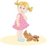 La petite fille Photographie stock libre de droits