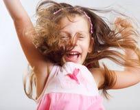 La petite fille ont un amusement. Photos libres de droits