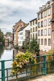 La Petite France in Strasbourg, Alsace, France. Old Town of Strasbourg called La Petite France, Alsace, France Royalty Free Stock Photography