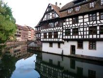 La Petite France, Strasbourg, Frankrike Arkivfoto