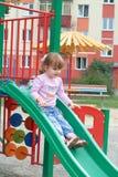 La petite gentille fille Photos libres de droits