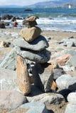 La petite porte de pierres dans les terres finissent, San Francisco Photographie stock