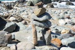 La petite porte de pierres dans les terres finissent, San Francisco Photos stock