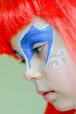 La petite sirène Ariel.Carnival. images libres de droits