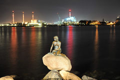 La petite sirène, Copenhague, Danemark photos stock