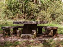 La petite table du Roi Arthur Photographie stock