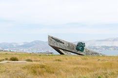 La petite terre commémorative Novorossiysk Images libres de droits