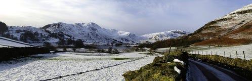 La petite vallée de Langdale Image stock