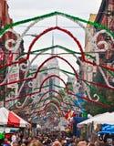La peu d'Italie à New York City photos libres de droits
