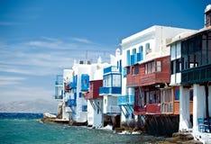 La peu d'Italie dans Mykonos Image libre de droits
