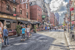 La peu d'Italie, Manhattan, New York, Etats-Unis Images stock