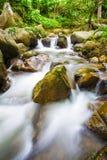 La photo de paysage, cascade de la Thaïlande Photos stock