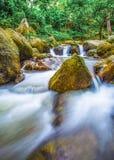 La photo de paysage, cascade de la Thaïlande Photos libres de droits