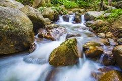 La photo de paysage, cascade de la Thaïlande Image stock
