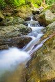 La photo de paysage, cascade de la Thaïlande Photo stock