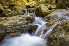 La photo de paysage, cascade de la Thaïlande Photographie stock