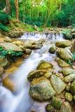 La photo de paysage, cascade de la Thaïlande Photo libre de droits