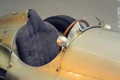 La photo filtrée de la voiture de course de Mercedes-Benz W154 Grand prix a conçu par Rudolf Uhlenhaut dans le musée technique na Images stock