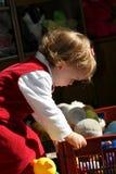 La pièce d'enfant ensoleillée Photo libre de droits