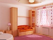 La pièce d'enfants intérieure Photographie stock