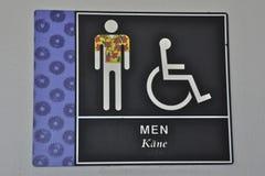 La pièce d'hommes d'Hawaï Images libres de droits