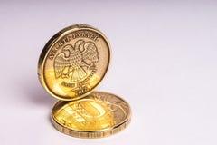 La pièce de monnaie Dix roubles Image libre de droits