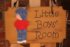 La pièce de petits garçons Images libres de droits