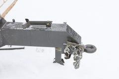 La pièce du dispositif pour l'accouplement de remorque pour des caravanes Images stock