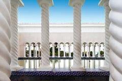 Mosquée d'Omar Ali Saifuddien de sultan au Brunei photo stock