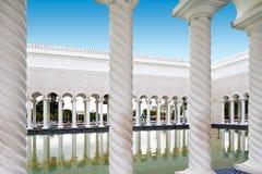 Mosquée d'Omar Ali Saifuddien de sultan au Brunei images stock