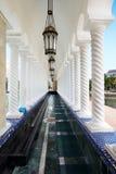 Mosquée d'Omar Ali Saifuddien de sultan au Brunei image libre de droits