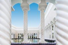 Mosquée d'Omar Ali Saifuddien de sultan au Brunei image stock