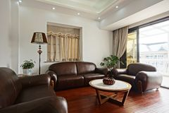 Sofas confortables Photo stock
