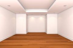 La pièce vide décorent le mur de couleur Photos libres de droits