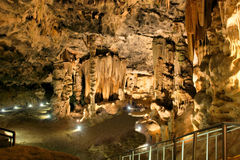 La più grande camera della caverna di Cango Immagine Stock Libera da Diritti