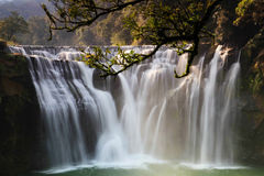 La più grande cascata in Taipei, Taiwan Fotografia Stock