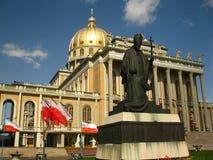 La più grande chiesa in Polonia Fotografia Stock