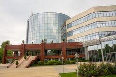 La più grande istituzione di Bourgas, Bulgaria Immagini Stock Libere da Diritti